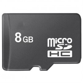 Carte Micro SD 8 Go