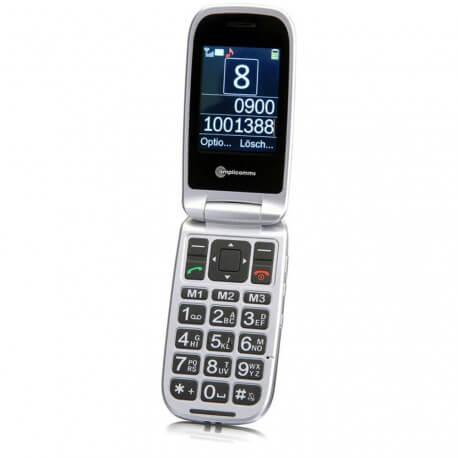 Amplicomms Powertel M7510 téléphone malentendant clapet