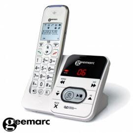 Geemarc Amplidect 295 téléphone sans fil senior