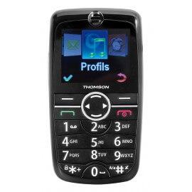Thomson Serea 125 - téléphone senior - grosse touche - socle de rechargement