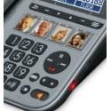 Amplicomms PowerTel 1880 - téléphone filaire senior - malentendants