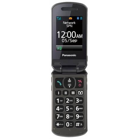 Panasonic TU339 - Téléphone à clapet - Senior - larges touches