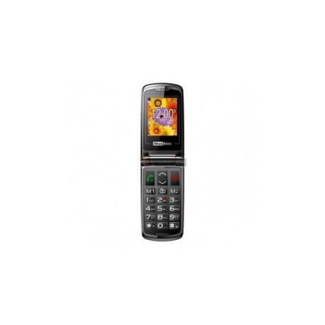 Maxcom 822 - Téléphone à clapet - Senior