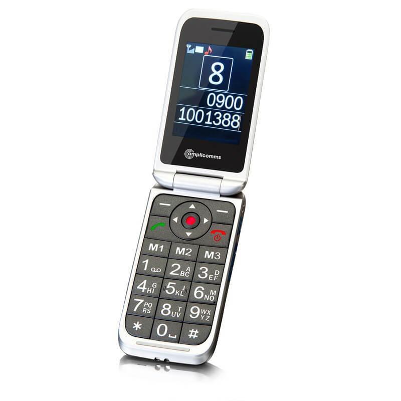 amplicomms m7000i t l phone clapet t l phone. Black Bedroom Furniture Sets. Home Design Ideas
