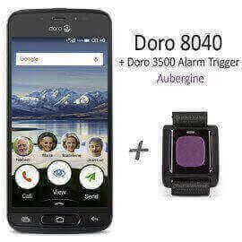Pack Doro 8040 + bracelet alarme 3500