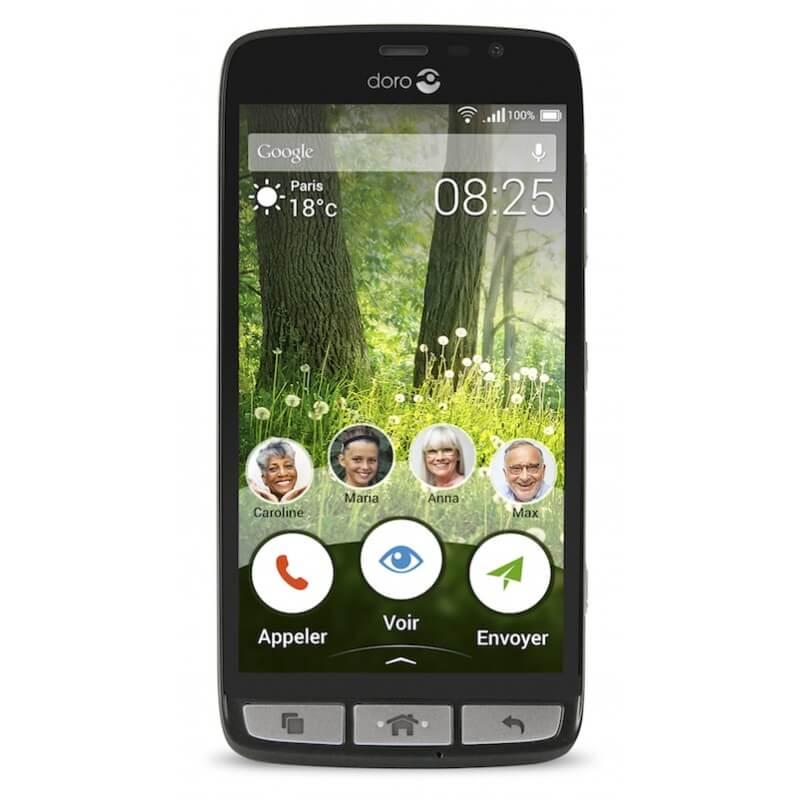 doro liberto 825 doro 825 smartphone senior. Black Bedroom Furniture Sets. Home Design Ideas