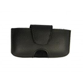 Housse simili cuir avec passant ceinture