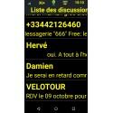 Alcatel Pixi 4 (5) Basse Vision téléphone malvoyant - aveugle