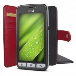 Housse de portefeuille Doro 8031 rouge