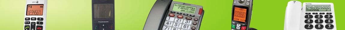 Téléphones fixes par caractéristiques